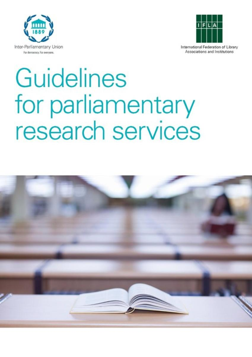 parliamentary research papers In august 2013, in light of the growing interest expressed by its membership  about parliamentary research services, the standing committee of the ifla  section.