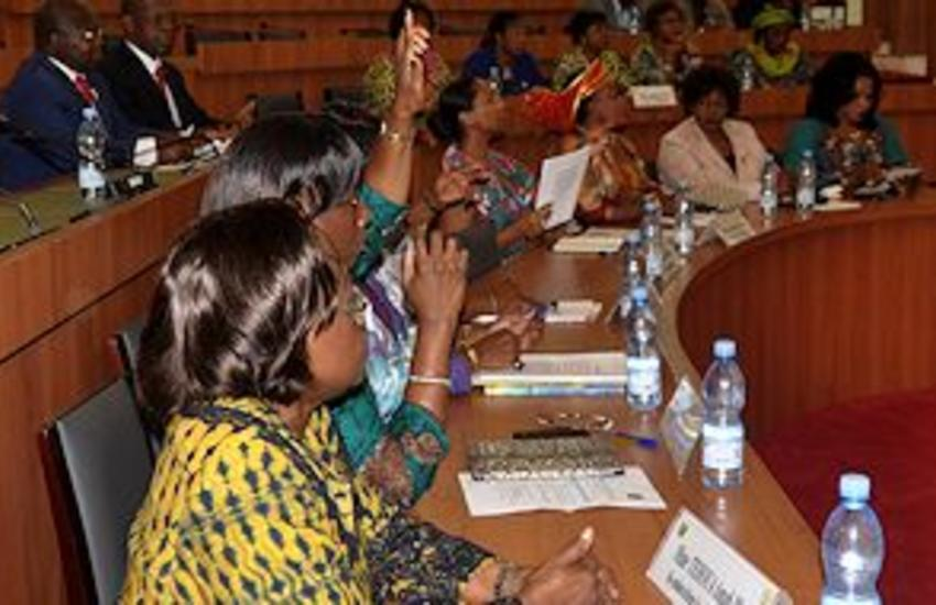 Côte d'Ivoire currently has 24 women MPs (9.4 per cent) out of 255 parliamentarians, well below the regional average in Africa of 22.5 per cent