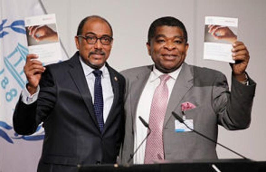 The guidelines were launched at the 133rd IPU Assembly by IPU Secretary General Martin Chungong and UNAIDS Executive Director Michel Sidibé.