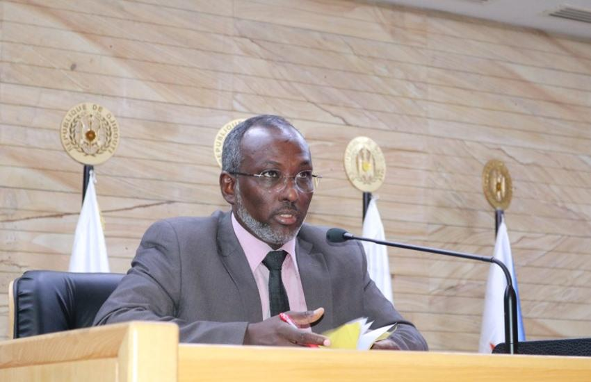 Speaker of the Parliament of Djibouti, Mohamed Ali Houmed