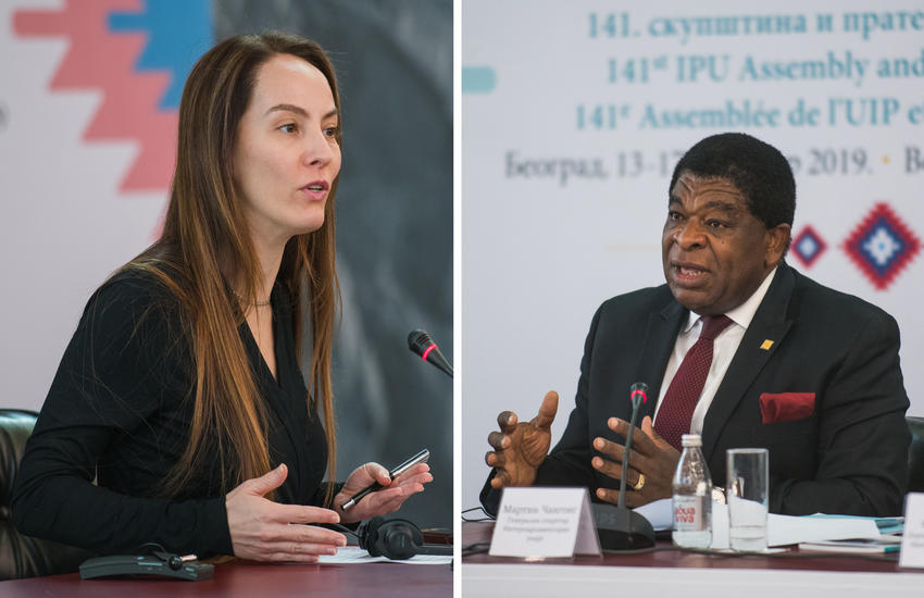 IPU President and Secretary General
