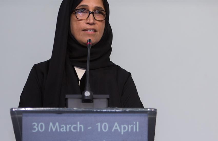 Hessa Sultan al-Jaber, ​ one of the women appointed to Qatar's Parliament.