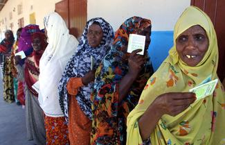 Djibouti women voters