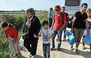 The focus on migration comes amid a major refugee crisis in Europe and the Middle East.