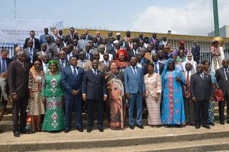 MPs from 18 different countries gathered in Côte d'Ivoire to take part in the seminar.
