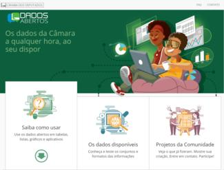 Website of the Parliament of Brazil