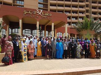 Participants at the Regional Seminar on promoting child nutrition in Burkina Faso
