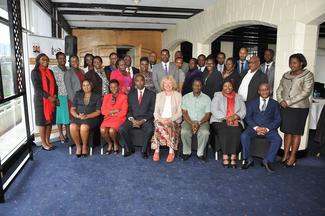 Participants at the gender mainstreaming workshop.