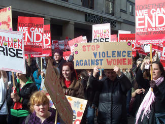 Protests against violence against women
