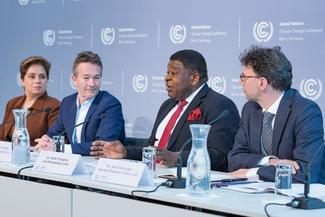 IPU Secretary General Martin Chungong at the Climate Change Conference in Bonn.