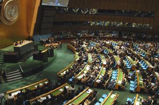 Session at the UN General Assembly