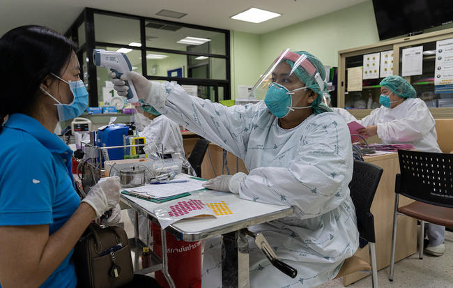 Thai healthcare workers