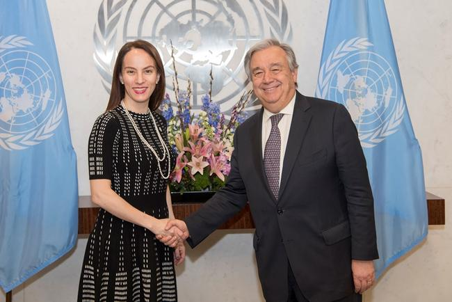 IPU President and UN Secretary General