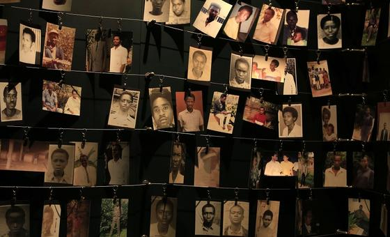 Photographs of Rwanda genocide victims